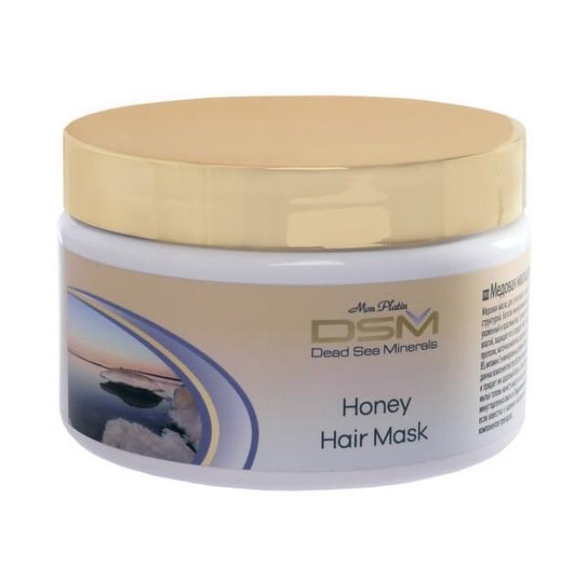 מסיכת דבש לשיער יבש פגום
